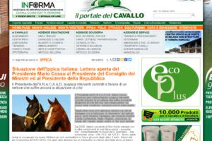 Situazione dell'Ippica italiana: Lettera aperta del Presidente Mario Cossu al Presidente del Consiglio dei Ministri ed al Presidente della Repubblica