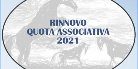 RINNOVO QUOTA SOCIALE